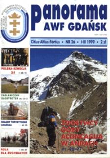 Panorama AWF Gdańsk : citius, altius, fortius, 1999, Nr 26