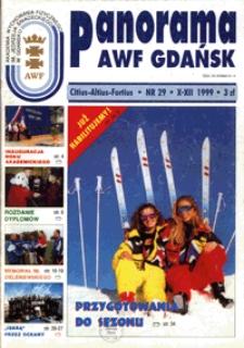 Panorama AWF Gdańsk : citius, altius, fortius, 1999, Nr 29