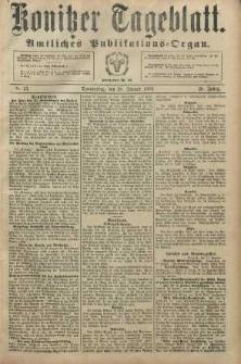 Konitzer Tageblatt.Amtliches Publikations=Organ