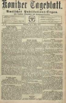 Konitzer Tageblatt.Amtliches Publikations=Organ, nr57