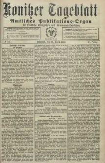 Konitzer Tageblatt.Amtliches Publikations=Organ, nr85