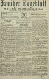 Konitzer Tageblatt.Amtliches Publikations=Organ, nr123