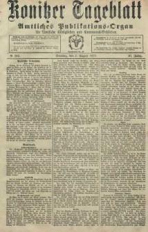 Konitzer Tageblatt.Amtliches Publikations=Organ, nr183