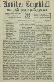 Konitzer Tageblatt.Amtliches Publikations=Organ, nr248