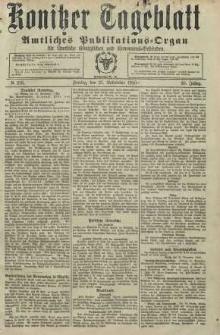 Konitzer Tageblatt.Amtliches Publikations=Organ, nr276