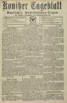 Konitzer Tageblatt.Amtliches Publikations=Organ, nr285