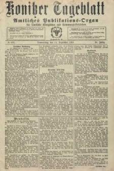 Konitzer Tageblatt.Amtliches Publikations=Organ, nr293
