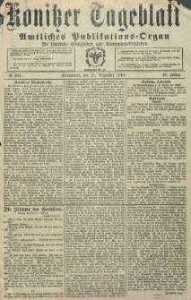 Konitzer Tageblatt.Amtliches Publikations=Organ, nr306