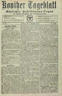 Konitzer Tageblatt.Amtliches Publikations=Organ, nr284a