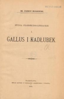 Gallus i Kadłubek