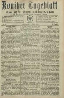 Konitzer Tageblatt.Amtliches Publikations=Organ, nr86