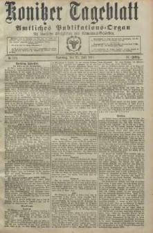 Konitzer Tageblatt.Amtliches Publikations=Organ, nr172