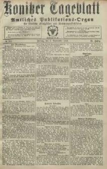 Konitzer Tageblatt.Amtliches Publikations=Organ, nr211