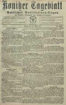 Konitzer Tageblatt.Amtliches Publikations=Organ, nr75