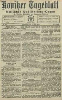 Konitzer Tageblatt.Amtliches Publikations=Organ, nr102