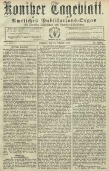 Konitzer Tageblatt.Amtliches Publikations=Organ, nr247