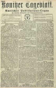 Konitzer Tageblatt.Amtliches Publikations=Organ, nr280