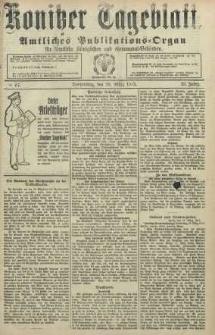 Konitzer Tageblatt.Amtliches Publikations=Organ, nr67