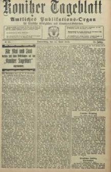 Konitzer Tageblatt.Amtliches Publikations=Organ, nr95