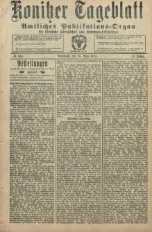 Konitzer Tageblatt.Amtliches Publikations=Organ, nr122