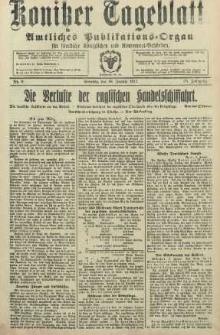 Konitzer Tageblatt.Amtliches Publikations=Organ, nr8