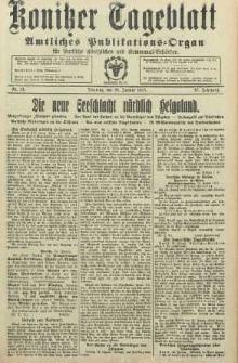 Konitzer Tageblatt.Amtliches Publikations=Organ, nr21