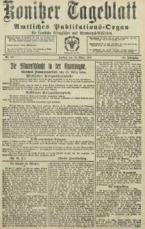 Konitzer Tageblatt.Amtliches Publikations=Organ, nr60