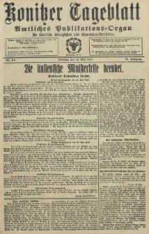 Konitzer Tageblatt.Amtliches Publikations=Organ, nr114