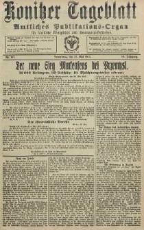 Konitzer Tageblatt.Amtliches Publikations=Organ, nr121