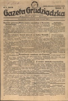 Gazeta Grudziądzka, 1932, nr4 (14 stycznia)