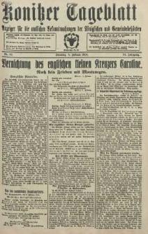 Konitzer Tageblatt.Amtliches Publikations=Organ, nr32