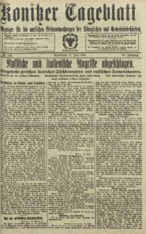 Konitzer Tageblatt.Amtliches Publikations=Organ, nr140