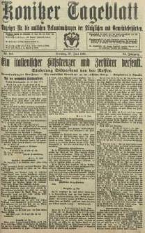 Konitzer Tageblatt.Amtliches Publikations=Organ, nr148