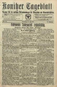 Konitzer Tageblatt.Amtliches Publikations=Organ, nr168