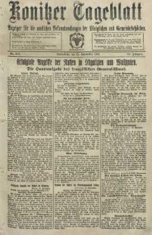 Konitzer Tageblatt.Amtliches Publikations=Organ, nr219