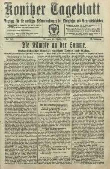 Konitzer Tageblatt.Amtliches Publikations=Organ, nr245