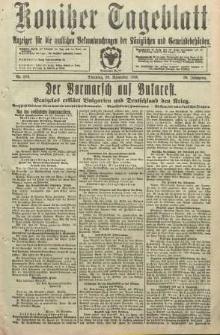 Konitzer Tageblatt.Amtliches Publikations=Organ, nr279
