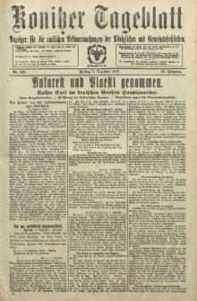 Konitzer Tageblatt.Amtliches Publikations=Organ, nr288