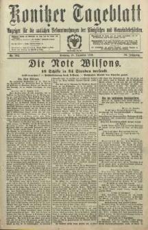 Konitzer Tageblatt.Amtliches Publikations=Organ, nr302