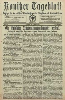Konitzer Tageblatt.Amtliches Publikations=Organ, nr24