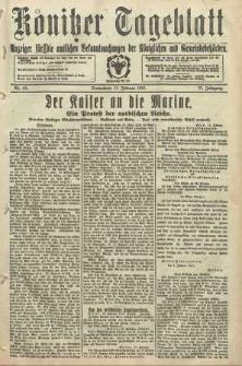 Konitzer Tageblatt.Amtliches Publikations=Organ, nr40