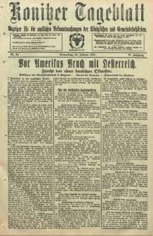 Konitzer Tageblatt.Amtliches Publikations=Organ, nr44