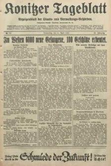 Konitzer Tageblatt.Amtliches Publikations=Organ, nr84