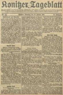Konitzer Tageblatt.Amtliches Publikations=Organ, nr13