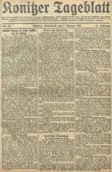 Konitzer Tageblatt.Amtliches Publikations=Organ, nr28