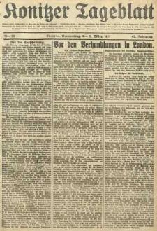 Konitzer Tageblatt.Amtliches Publikations=Organ, nr50