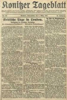 Konitzer Tageblatt.Amtliches Publikations=Organ, nr52