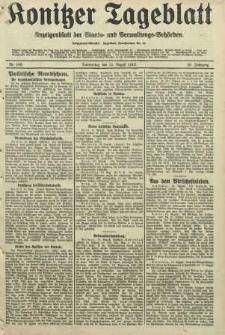 Konitzer Tageblatt.Amtliches Publikations=Organ, nr188