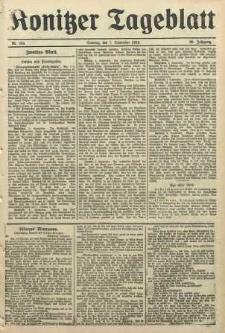 Konitzer Tageblatt.Amtliches Publikations=Organ, nr209a