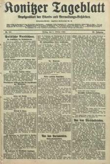 Konitzer Tageblatt.Amtliches Publikations=Organ, nr231